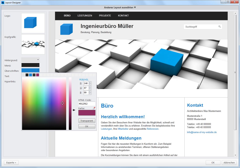 profi-cms – Professionelle Websites erstellen