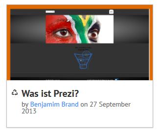 Was ist Prezi? Beispiel Anhand einer Prezi Präsentation über Zeta Producer