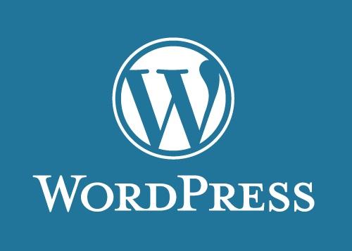 WordPress-Logo und -Schriftzug