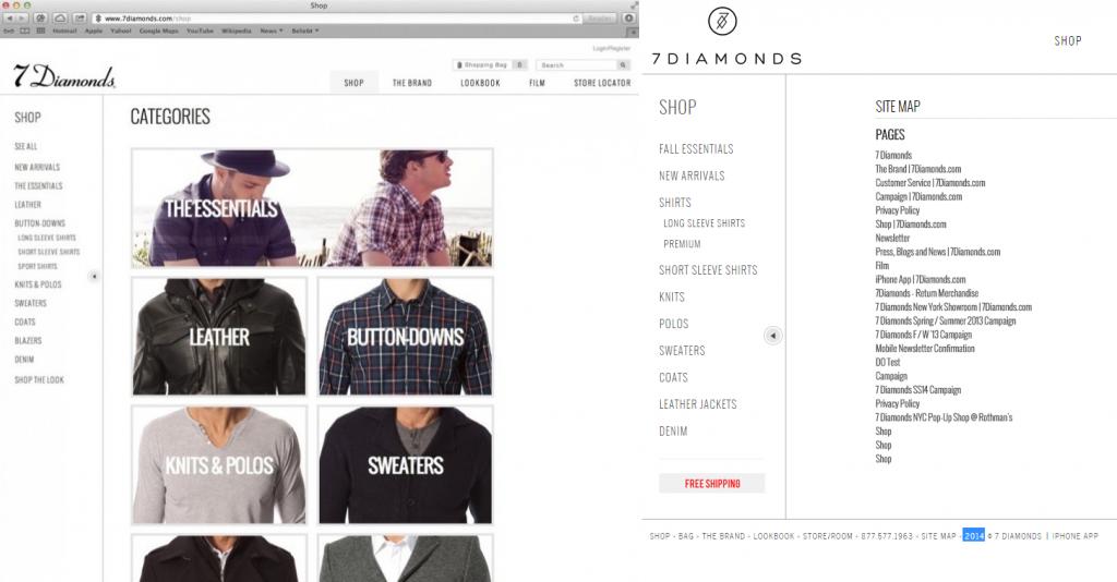 Beispiel Website
