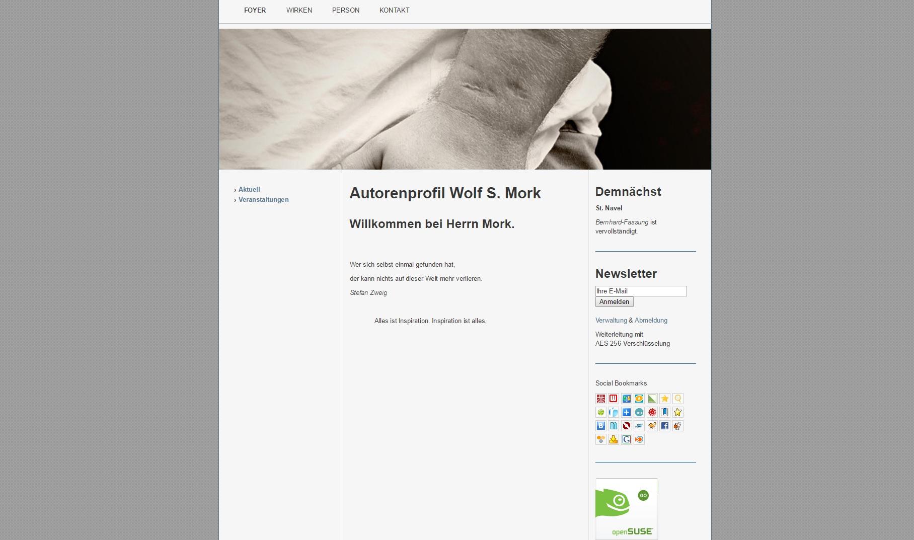 Autoren Website – Professionelle Websites erstellen