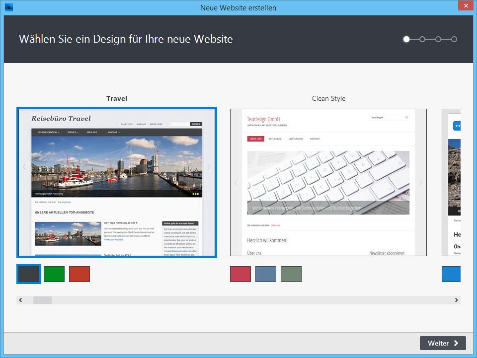 Homepage-Builder