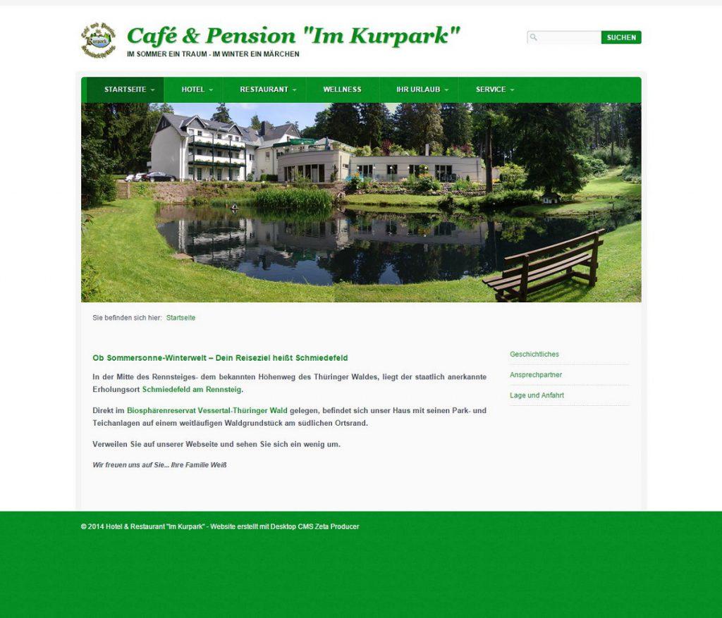 Café-Website Erstellen