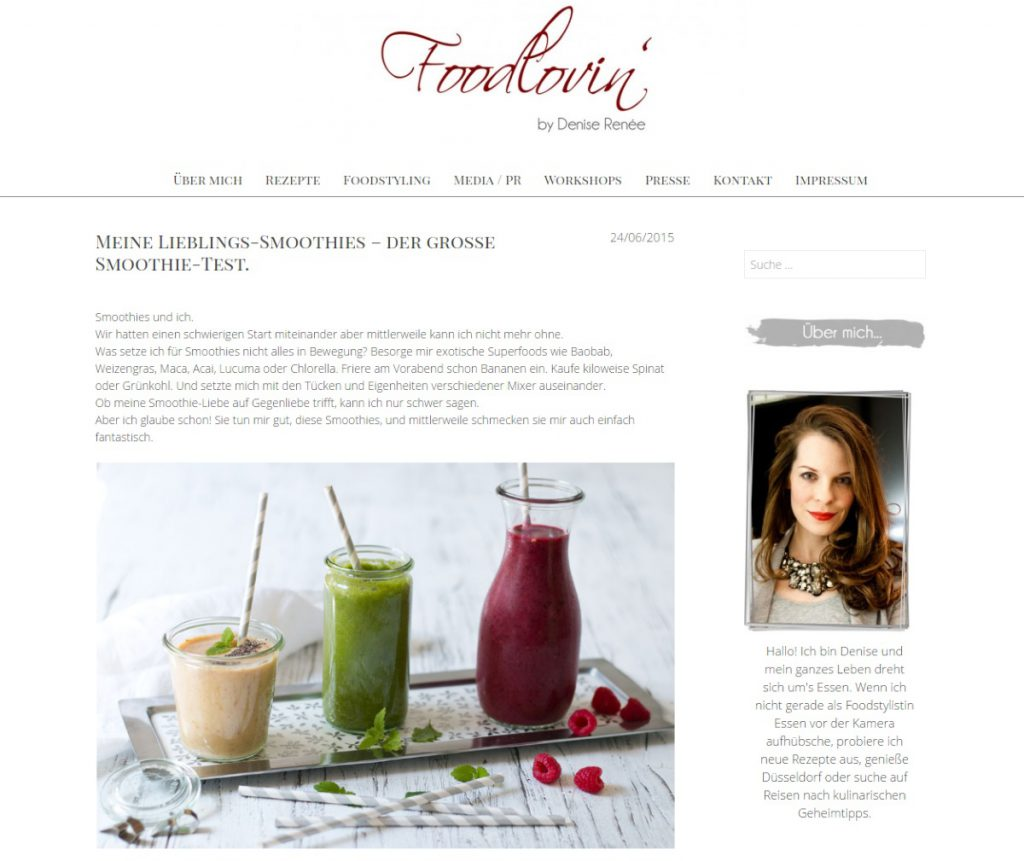 Foodlovin Smoothies