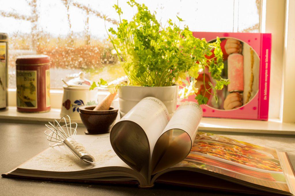 Kochbuch Herzseiten
