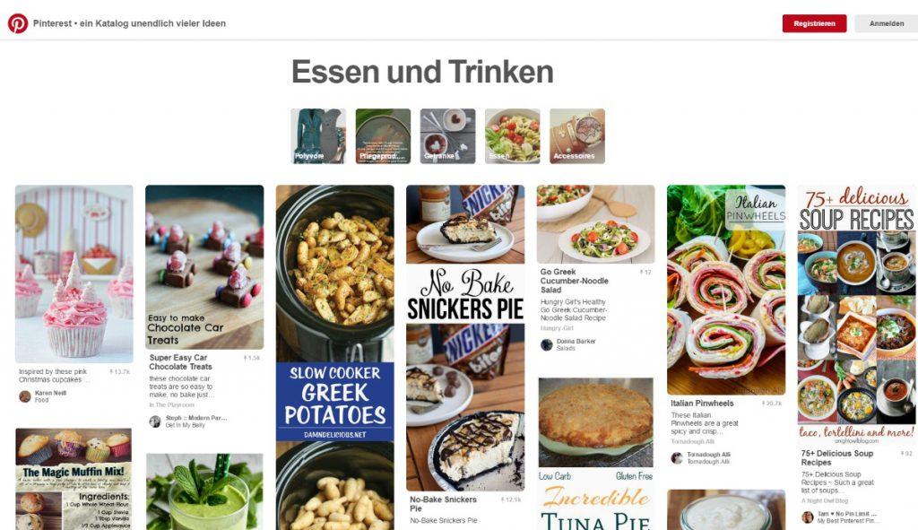 Kochrezepte auf Pinterest