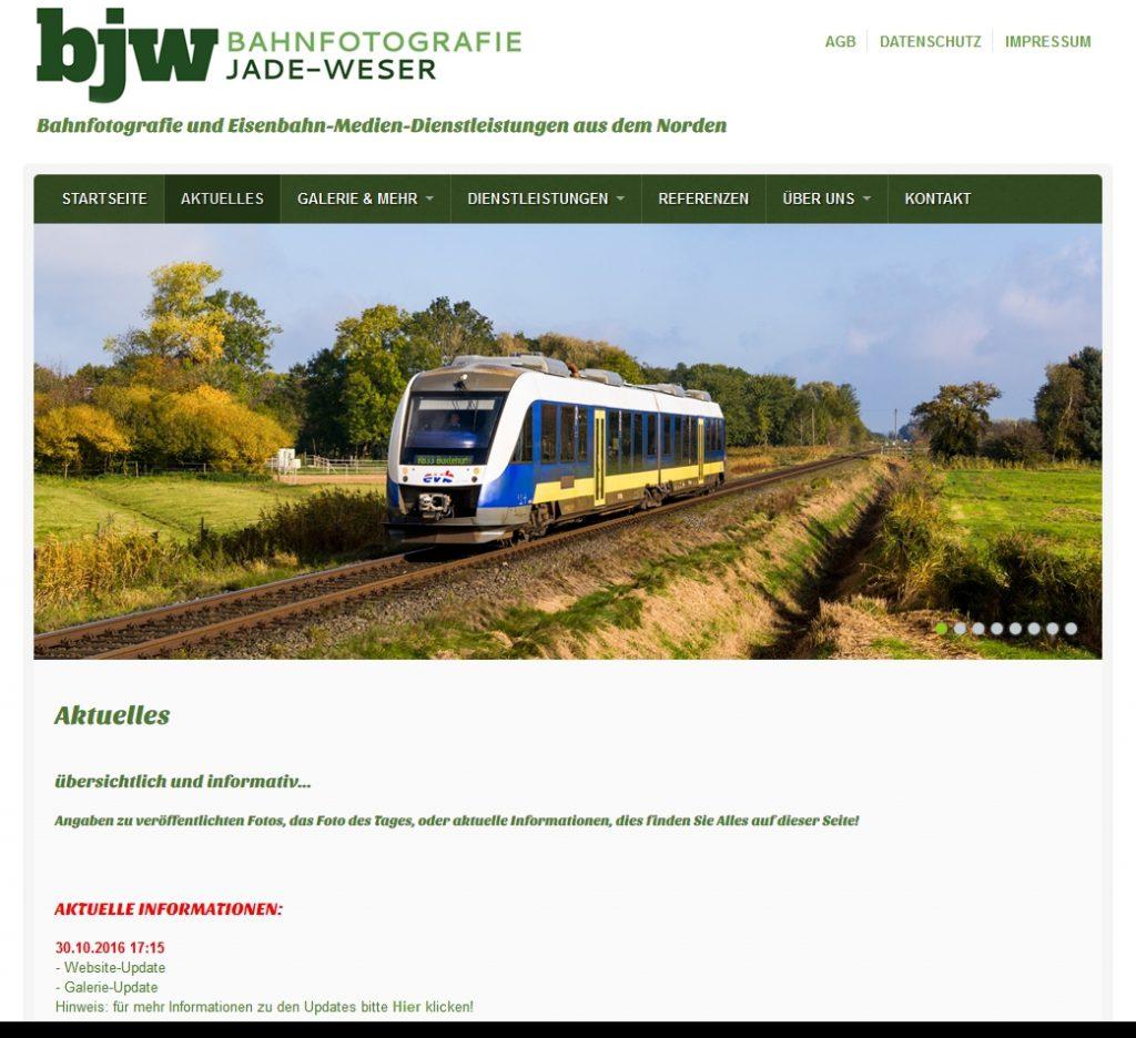 Startseite von bahnfotografie-jade-weser.de