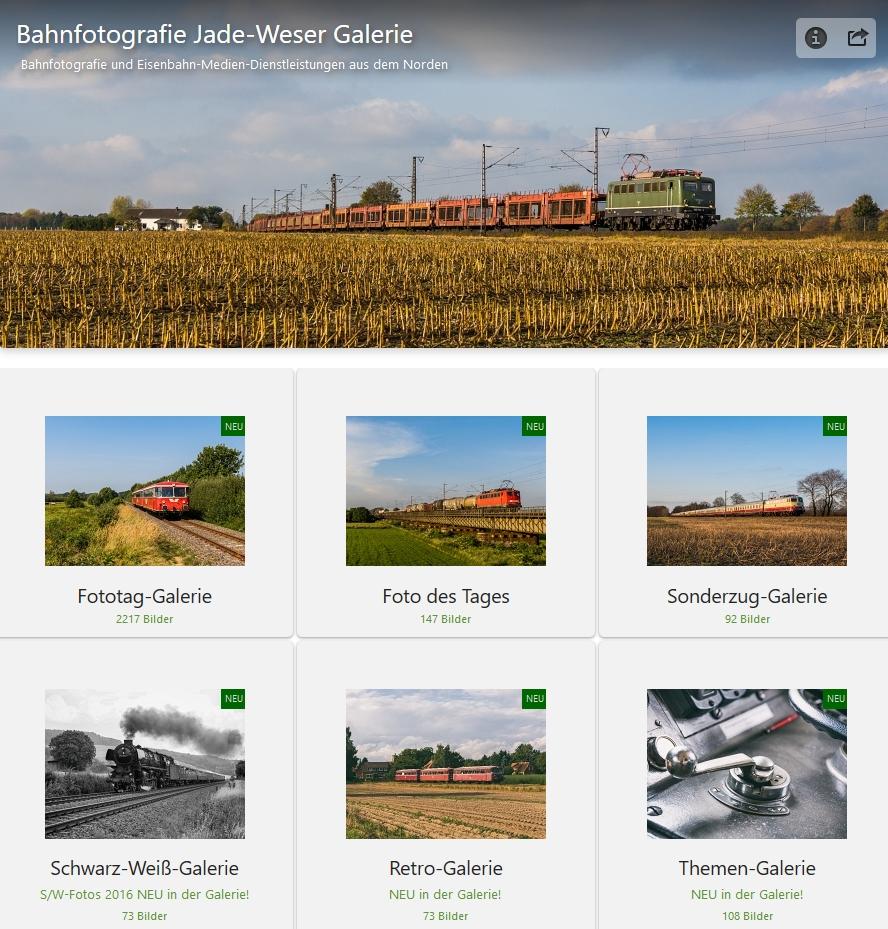 Bahnfotografie Jade Weser