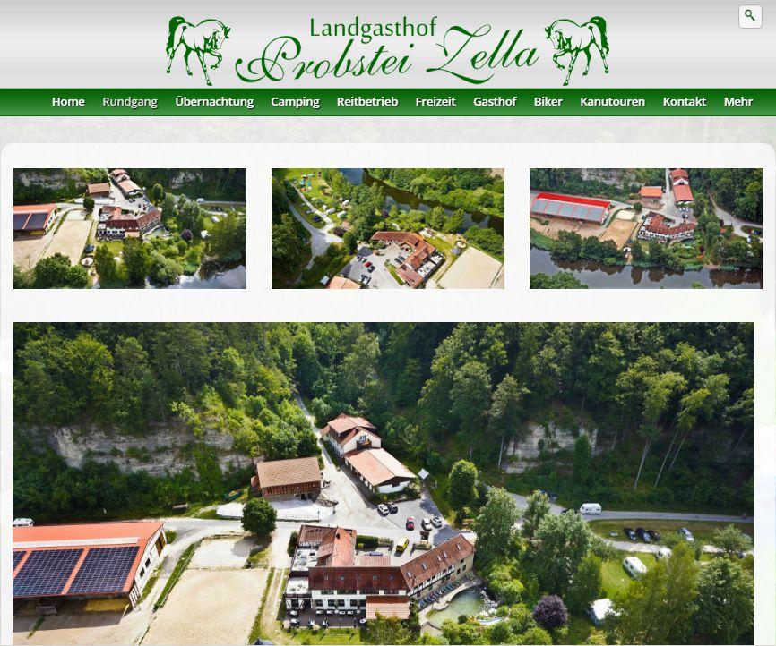 Screenshot von zella.de