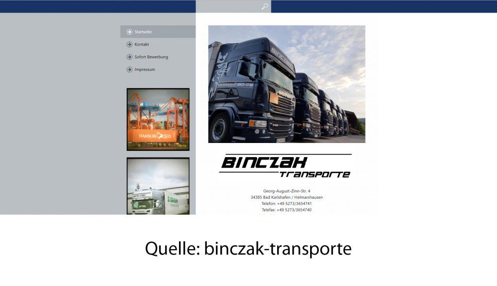 binczak-transporte