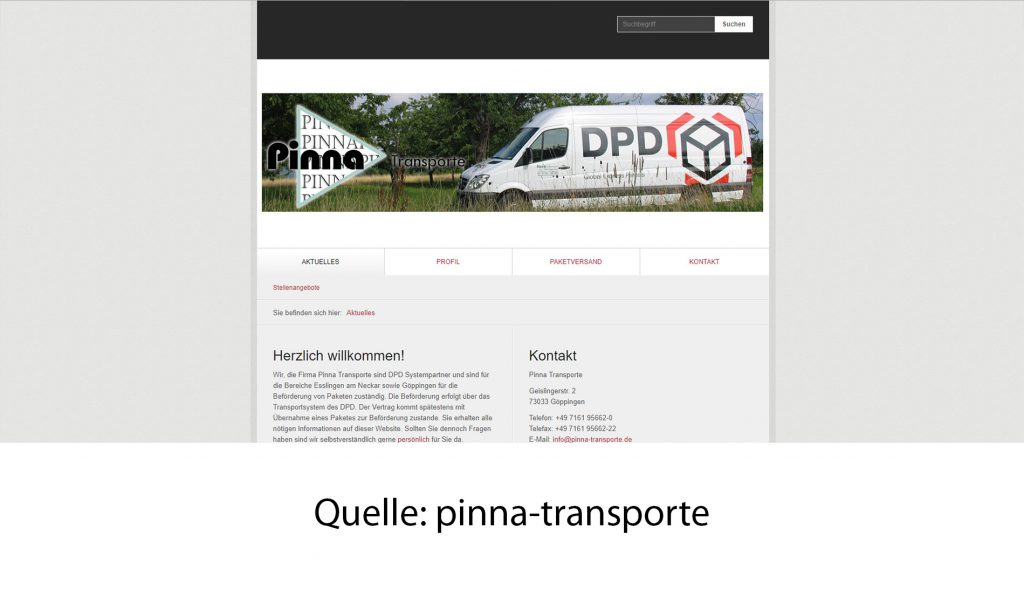pinna-transporte