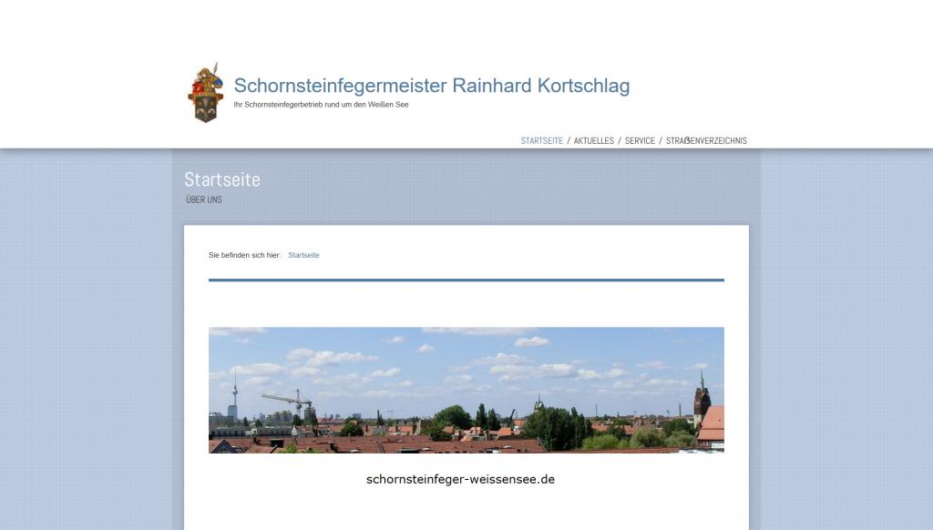 schornsteinfeger homepage erstellen