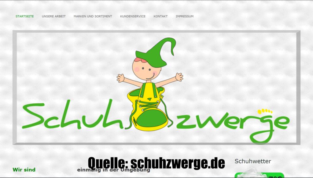 schuhhandel website erstellen