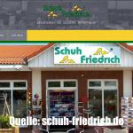 schuhhandel homepage erstellen