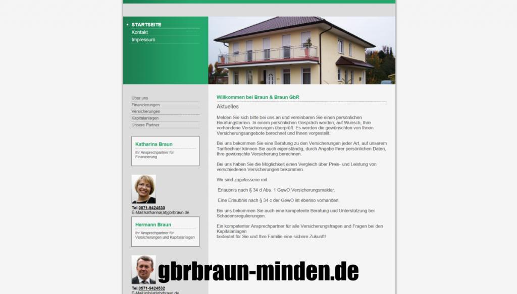 versicherungsmakler website erstellen
